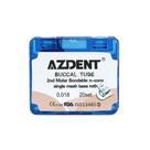 Набор ортодонтических трубок Azdent 0,18