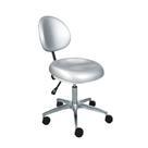 Anle 01 - стул врача с металлическим основанием и мягкой спинкой